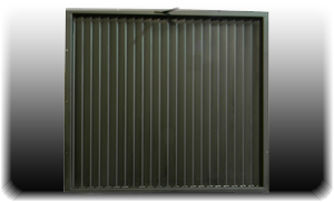 manually operated industrial shutters